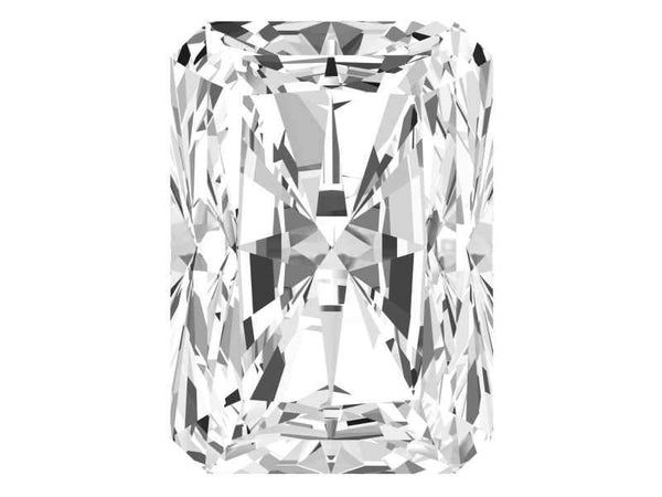 0.27 Carat Radiant Diamond E Color SI1 Clarity