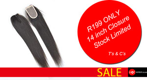 The Cheapest Brazilian Closure Sale on Hotdot.co.za From R199 ONLY