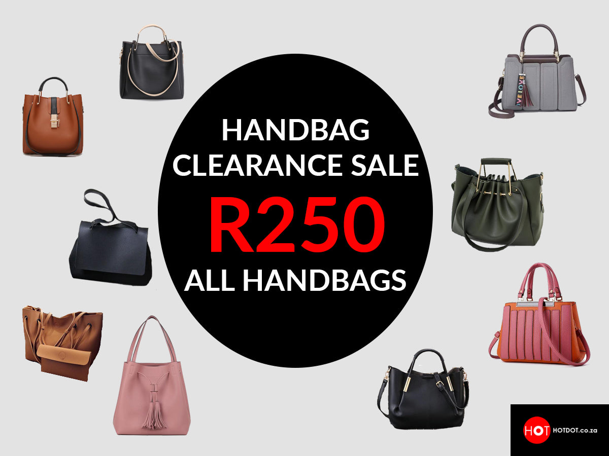 Bag Clearance sale banner