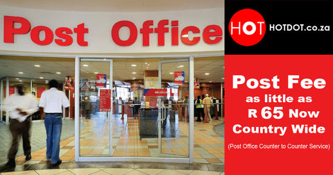 hotdot low rate shipping from R50