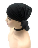Hotdot Knotted Wrap Black For SALE in South Africa