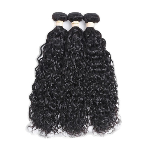 Beau-Diva 3x Bundles 12A Brazilian Water Weaves Package SKU 3WATER