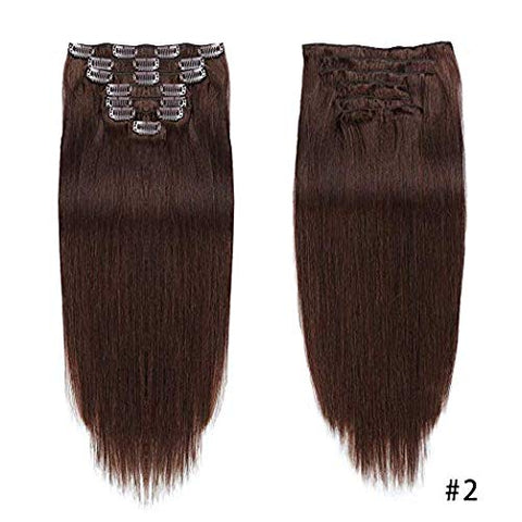 Hotdot Clipin Remy Hair Extensions SALE Human Hair Color #2 From R799