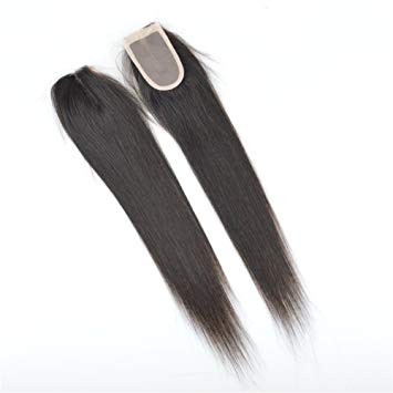 Special Beau-Diva 9A Brazilian 14inch Straight 4X2 Closure Middle Parts SKU STWC-2/4 14 Hotdot.co.za