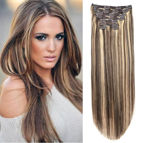 Hotdot Clipin Remy Hair Extensions SALE Human Hair Color #P1B/613 in Johannesburg South Africa