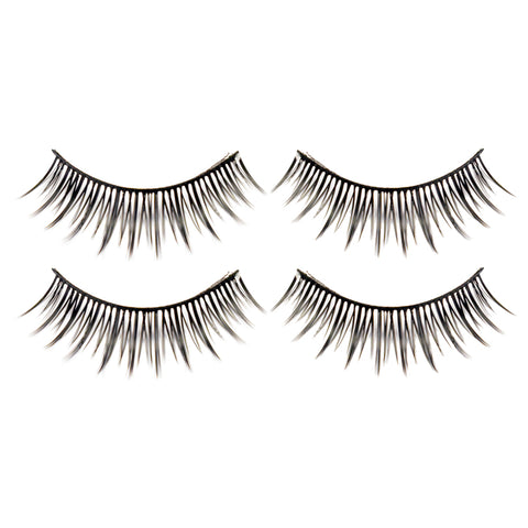 Hotdot 2x Eyelashes Black #002 x2p