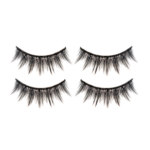 Hotdot 2x Eyelashes Black #001 x2p