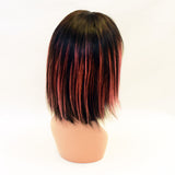 Hotdot Highlight bob Iminathi 8 inches Brazilian Wig Sku Iminathi 8 highlight Pink