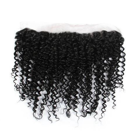 Beau-Diva 12A Brazilian Kinky Wave 13x4 Closure SKU CLOSURE 13X4 KW
