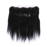 Brazilian Straight 13x4 Closure 9A Ear to Ear Frontal Lace Closure