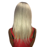 Hotdot Color OMBRÉ T2/Grey Mary 16 inches Brazilian Wig Sku Mary 16
