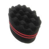 Natural Hair Twist Curl Sponge Double Side SKU HairSponge002
