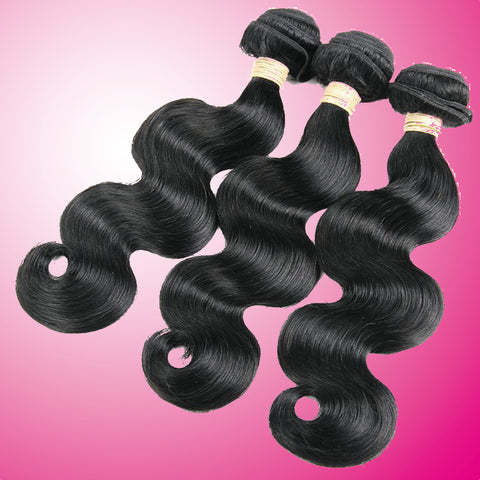 Special: Beau-Diva 3x Bundles 10 inches 12A Brazilian Body Weave Package SKU 3BODY10
