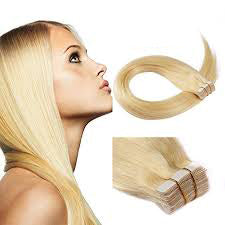 Beau-Diva tape in hair extensions 20 inch Blonde #27 | Hotdot.co.za