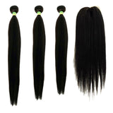 Sapphire 18+20+22 Free Closure Straight Synthetic Package SKU Straight Package