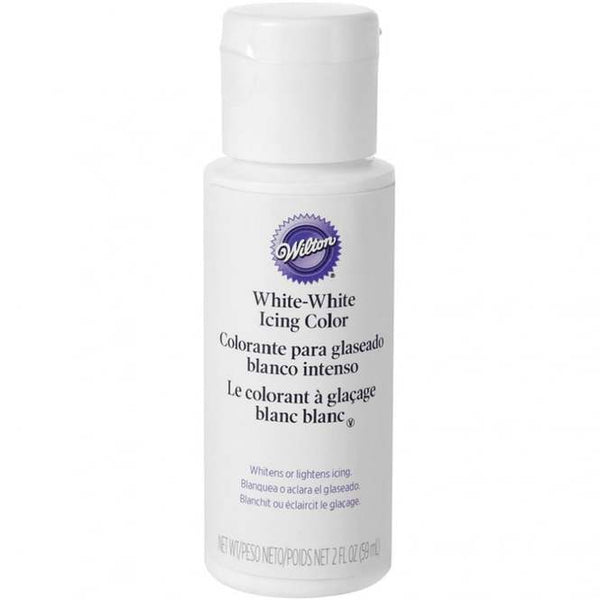 Wilton White liquid icing buttercream whitener 59ml