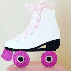 Personalised Ice Skate Cake Topper