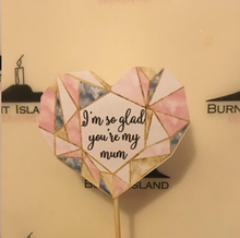 Personalised Mothers Day Cake Topper