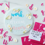 Sweet Stamp- Handwritten Font Set