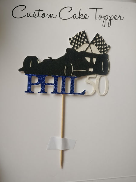 Personalised Vehicle Cake Toppers