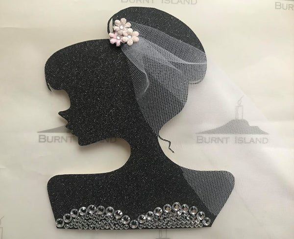 Lady Cake Topper