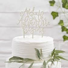 Wedding Wooden Cake Toppers