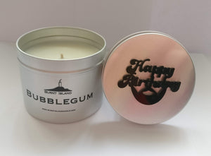 Customised Bubblegum Scented Candle