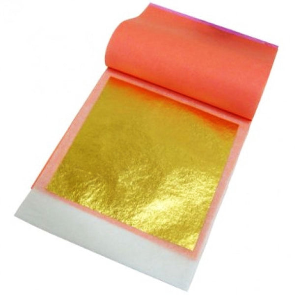 24K 100% Edible Gold Leaf Transfer Sheets - Premium Quality