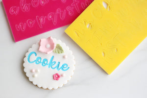 Sweet Stamp- Cookie Font Set