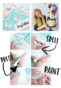 Sweet Stamp-Urban Font Set