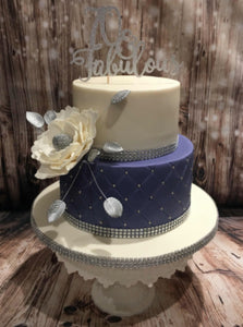 Any 'Age & Fabulous' Cake Topper