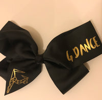 G Dance large hair bow