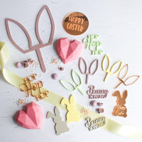 Engraved Easter Cupcake Disks