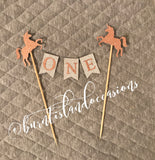 Bunting Cake Topper - Standard