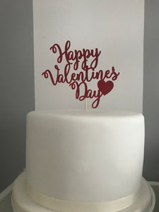 Multipurpose Valentine Day Toppers