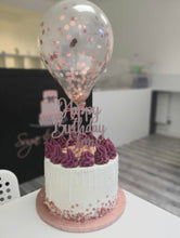 Mini Confetti Cake Balloon Decoration