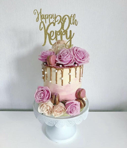 [CUSTOM] Create Your Own Card Wording Cake Topper!