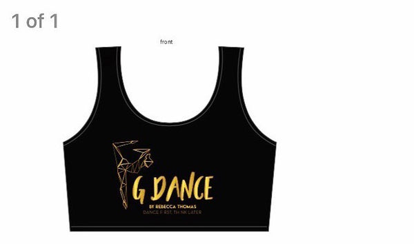 G Dance crop top