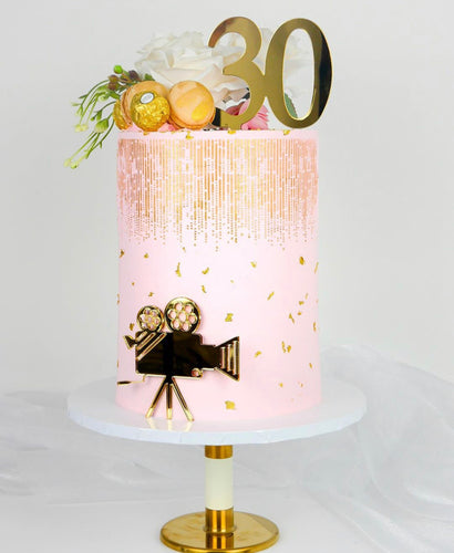Create Your Own Acrylic Number Cake Topper!