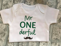 Personalised Baby Bodysuit - Short sleeved