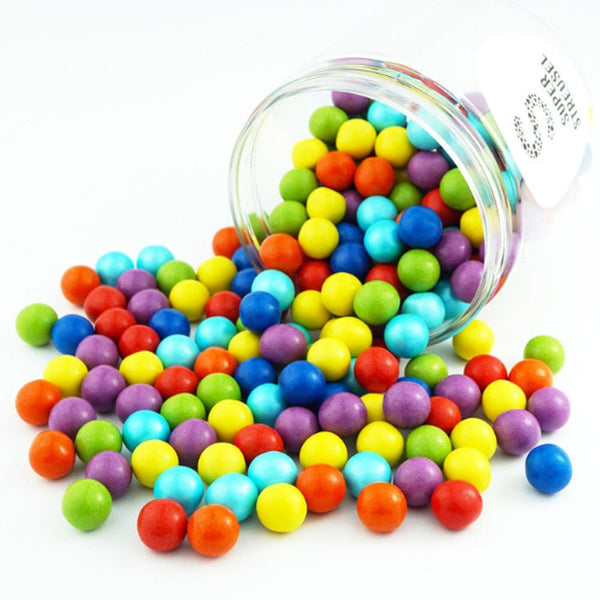 Super Streusel Chocolate Milk Coated Balls Super sprinkles- Rainbow - 90g