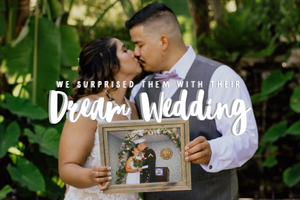 We Surprised This Deserving Couple With Their Dream Wedding