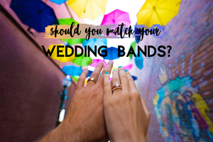 Do Wedding Bands Have to Match?