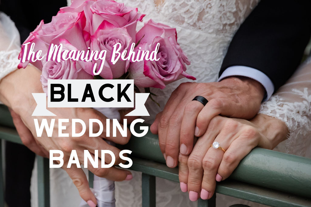 What Does A Black Wedding Band Mean Modern Gents Modern Gents Trading Co
