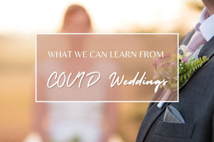 What We Can Learn From COVID Weddings
