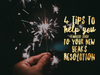 4 Tips to Help You (Finally) Stick to Your New Year's Resolution