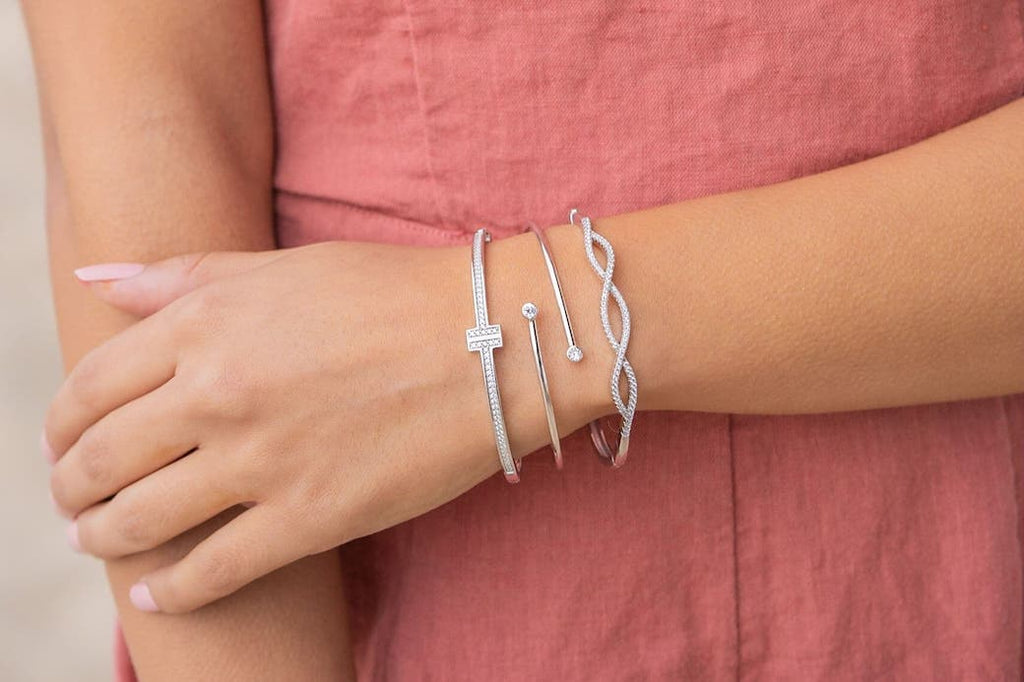 Affordable Inexpensive High Quality Sterling Silver Bracelets Jewelry Goodies Bridesmaids Gifts Thank You Wedding Engagement Bride Squad BFFs