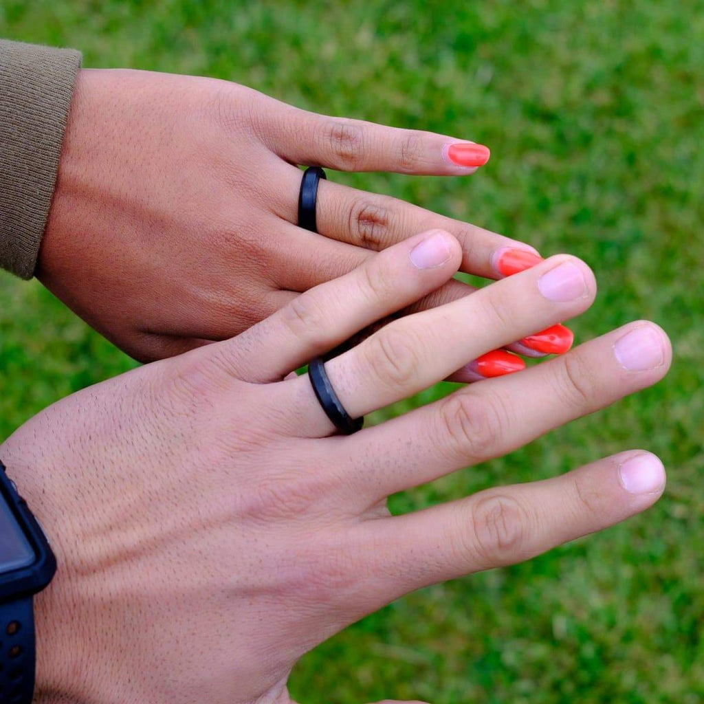 3 Things To Know About Black Wedding Bands Modgents Modern Gents Trading Co