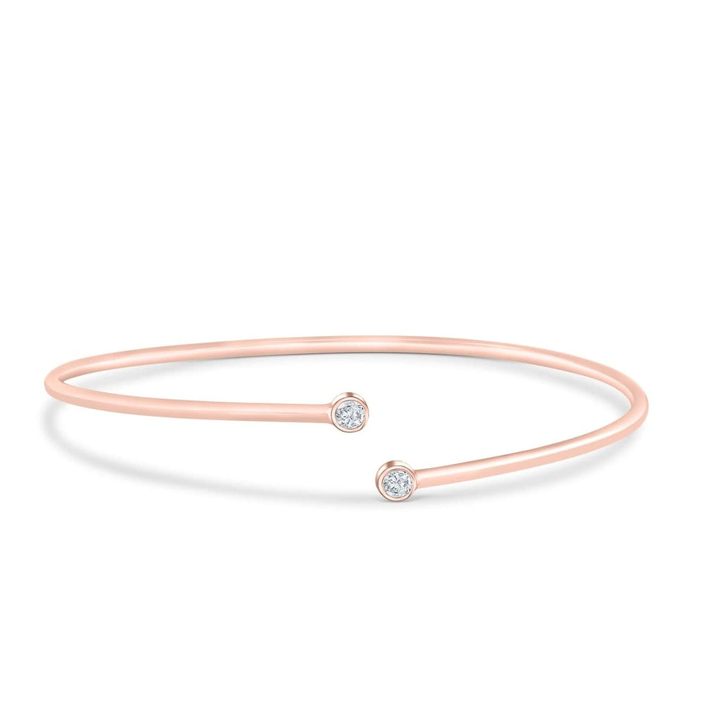 Bracelet Simple Rose Gold Bridal Jewelry What to Wear Accessories Wedding Accessorizing Inexpensive Affordable Beautiful Conflict Free