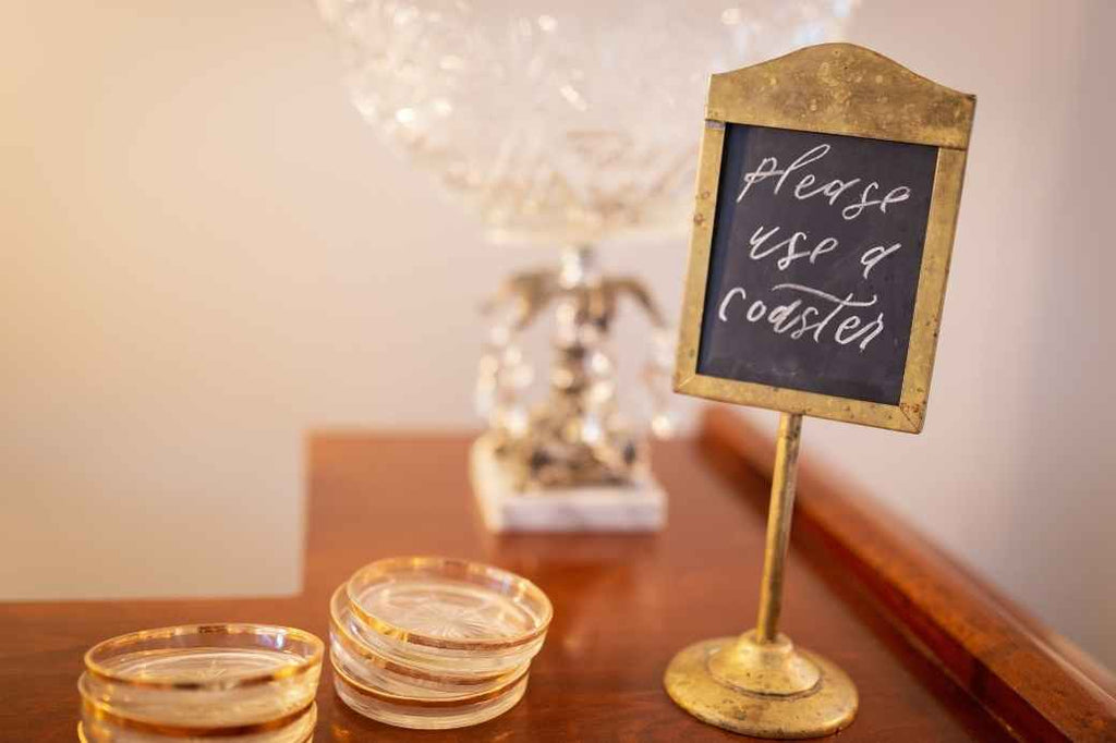 Drink Coasters Wedding Favor Ideas Under $1 Cheap Affordable Inexpensive Planning Advice New Bride